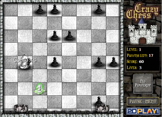 Screenshot vom Programm: Crazy Chess