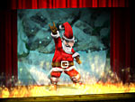Screenshot vom Programm: Dancing Santa 3D